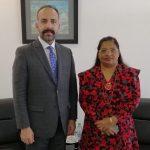 Director General SARCO Mr.Zahidullah Jalali met H.E. Zahiya Zareer, Ambassador at Large,